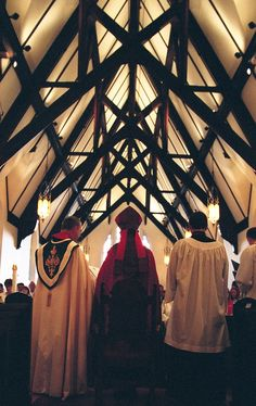 """At an ordination inside St. I slugged this photo, """"miterbeams"""", when I filed it for the Diocese of Utah Diocesan Dialogue. The bishop in the miter is the Rt. Episcopal Church, Salt Lake City, Utah, Irish, Darth Vader, Concert, Irish Language, Concerts, Ireland"""