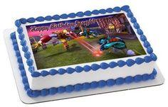 Skylander Giants 2 Edible Birthday Cake Topper OR Cupcake Topper, Decor