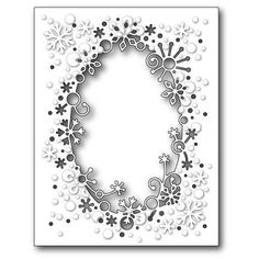 Ellen Hutson LLC - Memory Box Dies, Flurry Snowflake Frame, $26.00 (http://www.ellenhutson.com/memory-box-dies-flurry-snowflake-frame/)