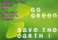 """[Go-GREEN!]: Getting the Buildings Designed and Dressed in """"Green"""" to become Nature Friendly 