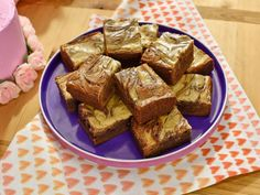 Get Sunny's Sour Cream Swirl Brownies Recipe from Food Network