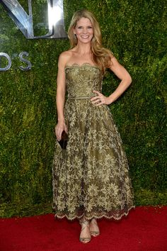 Kelli O'Hara at the Tony Awards - Best of 2015: Red Carpet Gowns - Photos