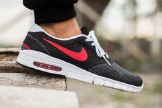 "Nike SB Eric Koston 2 Max ""Black, Uni Red & Cool Grey"""