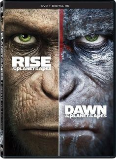Rise Of The Planet Of The Apes / Dawn Of Planet Of DVD #planet #dawn #apes #rise