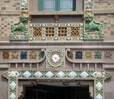 On Leong Merchants Association building. Detail.  #Chicago #architecture