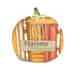 Fall For All Pumpkin Harvest Blessings Wall Decor