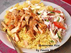 Shawarma Rice | Fauzias Kitchen Fun