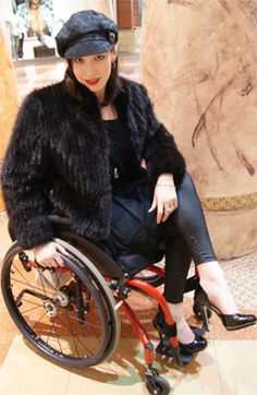 Wheelchair at High Heels. >>> See it. Believe it. Do it. Watch thousands of SCI videos at SPINALpedia.com