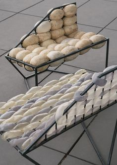 Tobias Trübenbacher creates furniture from pig bladders and cow intestines
