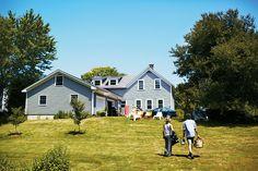 Vermont house + yard