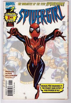 Spider-Girl #1 Oct 1998 Marvel Comic Book Daughter Of Spider-Man First Issue