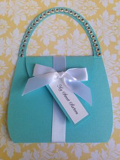 25 Tiffany Turquoise  inspired Purse