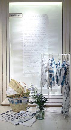 """ISETAN,Shinjuku,Tokyo, Japan, GALLERIE VIE """"Art Frame...ANA DEMAN"""", pinned by Ton van der Veer"""