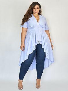 Stylish Plus Size Clothing, Plus Size Outfits, Plus Size Fashion, Erica Lauren, Very Beautiful Woman, Fashion To Figure, Figure Size, Plus Size Model, Beautiful Blouses