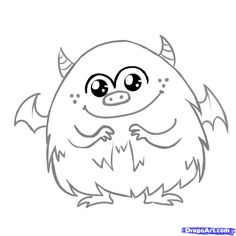 cute monster coloring pages 32 Best monster printables images | Appliques, Monster clipart  cute monster coloring pages
