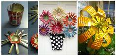 Transforma-ti gradina cu aceste 16 idei de decoratiuni din doze de aluminiu
