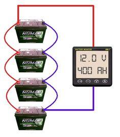 wiring multiple 6 volt batteries together 24 volt