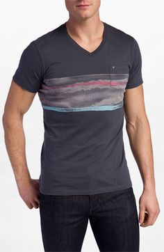 Topo Ranch 'Water Flow' V-Neck T-Shirt available at Nordstrom. $42