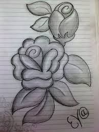 pencil drawings of flowers in a vase - Google Search