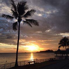 #sunset #run #noumea #newcaledonia #dusk
