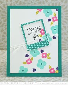 Happy Looks Good On You Card - totally love this color!