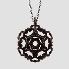 Primitiva Jewellery designed by Katrin Olina combines digital and bronze age techniques