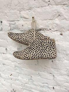 MARUTI Gimlet, pony hair & small dots shoes