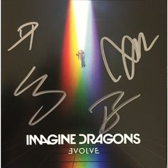 Imagine Dragons - Evolve (CD + Signed Booklet)