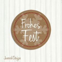 24+St+*Frohes+Fest+*Aufkleber+Sticker+40mm+von+JanoschDesigns+auf+DaWanda.com