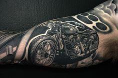 3Hf0r #Jbiker #Jtatt #tattoo