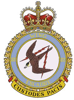 Known as the Canadian Air Defence Sector (CADS), 22 Wing is responsible for providing surveillance, identification, control and warning for the aerospace defence of Canada and North America at the Sector Air Operations Centre. Lightning Bolt, Air Force, Wings, Military, Hero, Crests, Badges, Plane, Safety