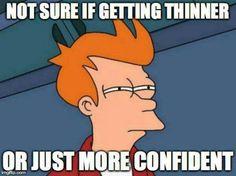 Getting confident