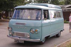 commer Car Camper, Camper Caravan, Camper Van, Vintage Vans, Vintage Trucks, Food Trucks, Classic Campers, Mini Bus, Cool Vans