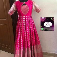 Girls Frock Design, Long Dress Design, Dress Neck Designs, Saree Blouse Designs, Long Gown Dress, Long Frock, Long Gowns, Dress Up, Indian Long Dress