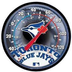 WinCraft Toronto Blue Jays Thermometer for sale online Sports Merchandise, Toronto Blue Jays, Trends, Fan Gear, Mlb, Outdoor, Bedroom, Fitness, Products
