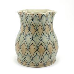 Large Ceramic Vase  Utensil Holder  with by dawndishawceramics, $65.00