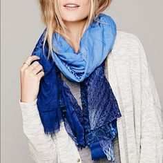 Freepeople Jade lace scarf Gorgeous scarf in great condition! Only worn once or twice Free People Accessories