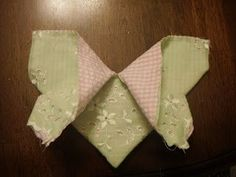 Goddess of Sewing: Origami Butterfly Tutorial: