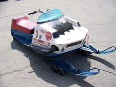 old snowmobiles  i had one of these when i 14 years old