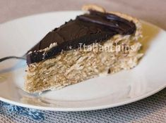 Non Bake Desserts, Italian Desserts, Sweet Cooking, Cooking Time, Biscotti, Torte Cake, Italian Cookies, Bakery Cakes, Something Sweet