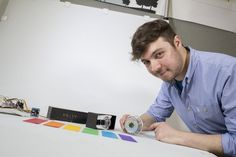 Nottingham student designs 3D printed wearable device to support the visually impaired
