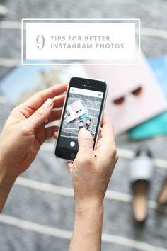 9 Tips for Better Instagram Photos - #Instagram #socialmedia