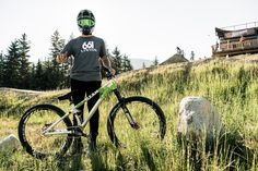 It's the biggest slopestyle event of the year, but what kind of bike can take on such a beast?