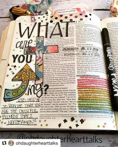 See this Instagram photo by @biblejournaling • 434 likes