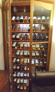 whiskey cabinet, shelf detail.... maybe throw a bottle or 12 of wine in there ;)