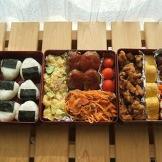 運動会 お弁当 Japanese sports day lunch box (kasane bento). http://www.trover.com/u/2800705525