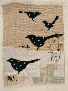 Blackbirds by Jantze Tullet, thanks to The Art Room Plant