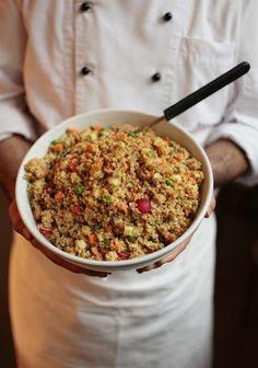 Bulgur-Salat Frühling (vegan)   Mehr von tibits gibts auf: - https://www.facebook.com/tibits.ch - https://twitter.com/tibitsCH  Wir freuen uns auf euren Besuch! :D