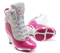 cheap for discount c78a8 4f6af women jordan shoes 6 rings high heels white pink jordan heels jordan boots  jordan