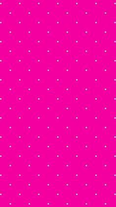 Hot pink // white // polka dots pink polka dots wallpaper, pink wallpaper i Pink Wallpaper Android, Trendy Wallpaper, Cellphone Wallpaper, Cute Wallpapers, Wallpaper Backgrounds, Iphone Backgrounds, Pink Polka Dots Wallpaper, Pink Walpaper, Pink Iphone